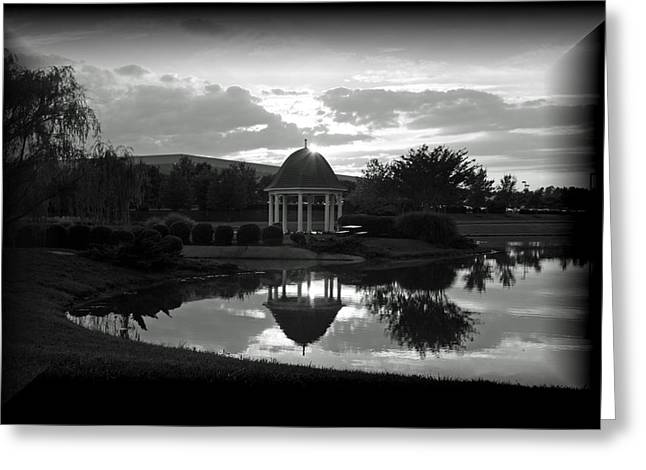 Greeting Card featuring the photograph Reflections by Karen Harrison