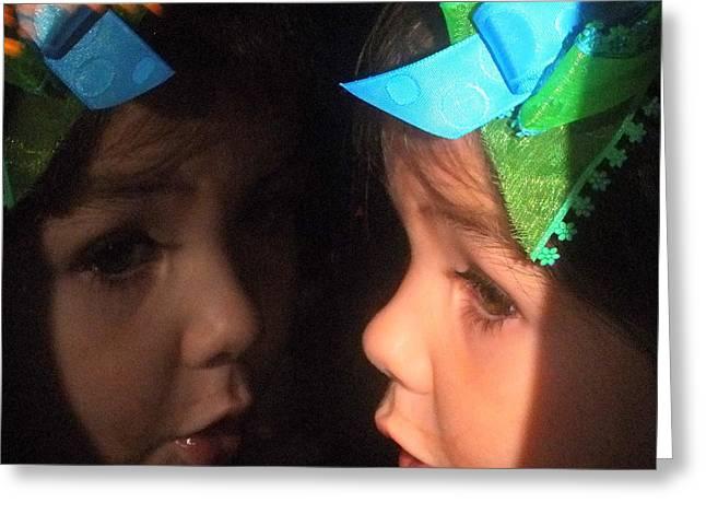 Reflections Of Isabella Greeting Card