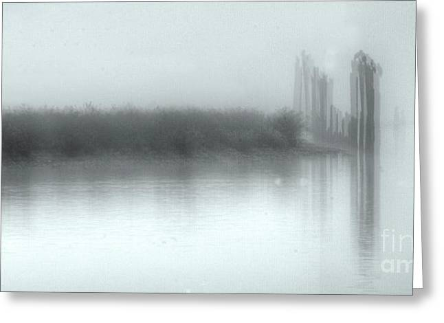 Reflections Through The Fog Greeting Card