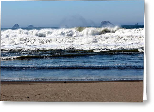 Greeting Card featuring the photograph Refreshing by Jo Sheehan
