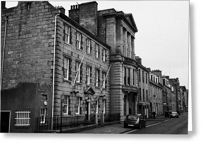 Regent Quay Aberdeen Scotland Uk Greeting Card by Joe Fox