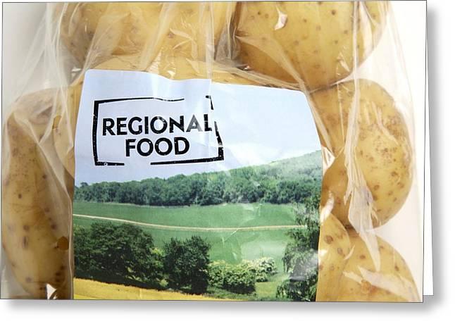 Regional Food Greeting Card by Victor De Schwanberg