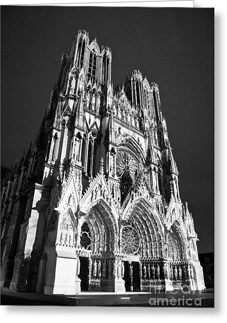 Reims Cathedral Greeting Card