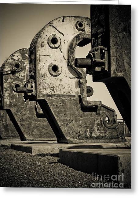Relics Of A Bygone Era Greeting Card by John Buxton