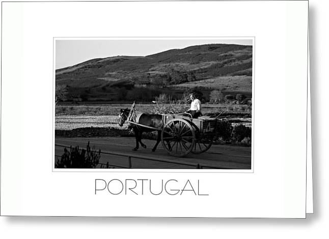 Remains Of The Day Portugal Greeting Card by J R Baldini M Photog Cr