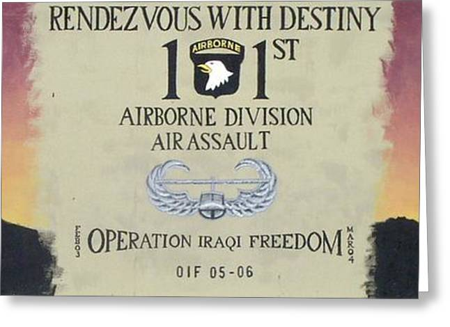 Rendezvous With Destiny Greeting Card