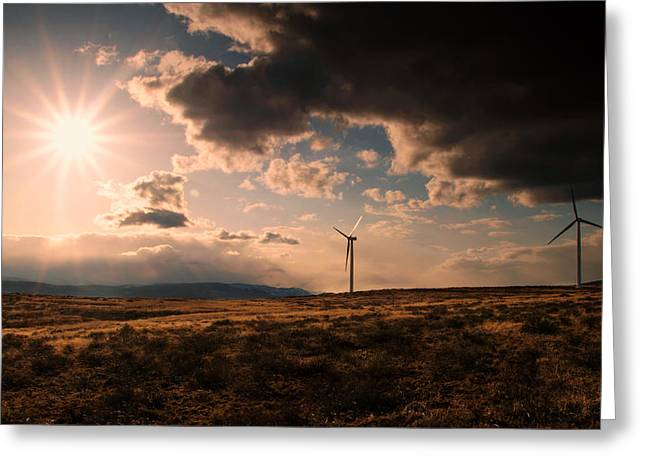 Renewable Energy Greeting Card by Dan Mihai