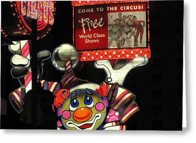 Reno Nv Greeting Card by HollyWood Creation By linda zanini