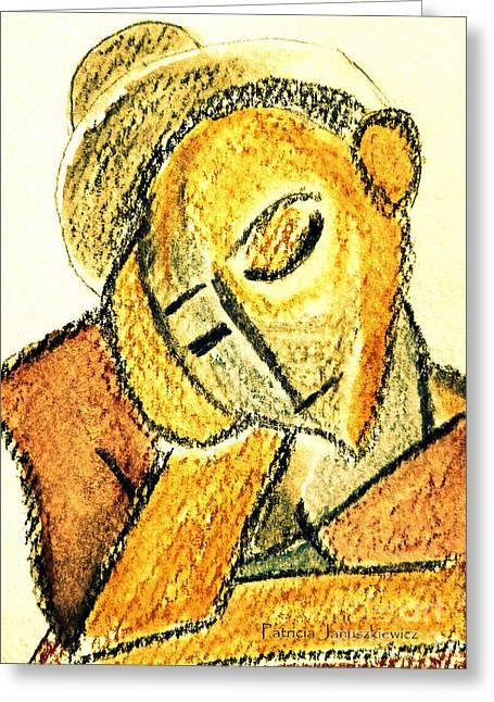 Repose By Pj Greeting Card by Patricia Januszkiewicz