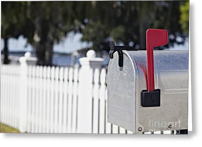 Residential Mailbox Greeting Card