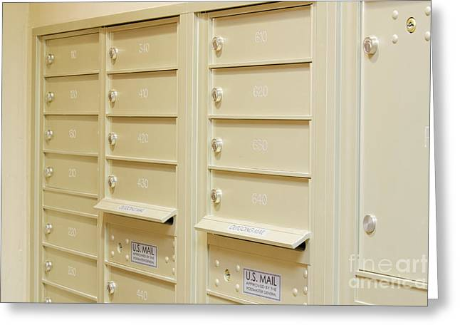 Residential Mailboxes In Apartment Building Photograph by Jeremy ...