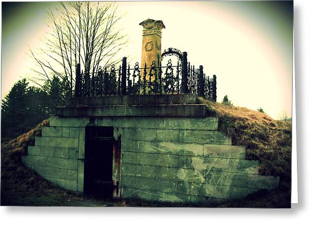 Resting Place Greeting Card by Scott Baer