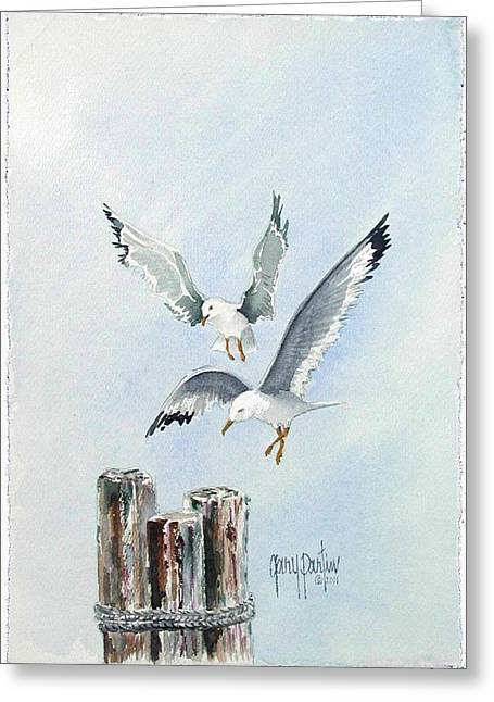 Resting Posts Greeting Card