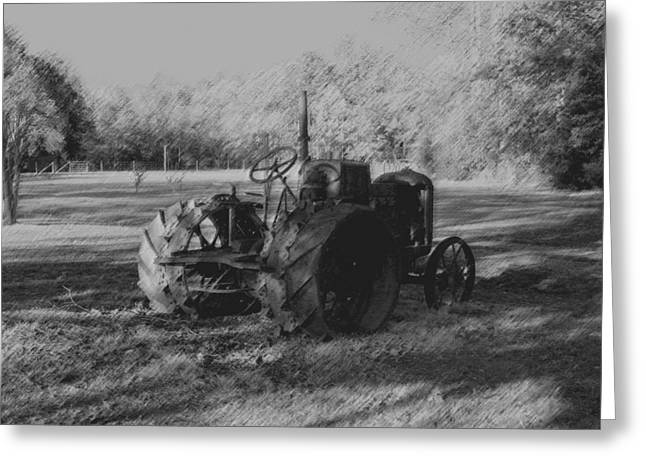 Greeting Card featuring the photograph Retired by Karen Harrison