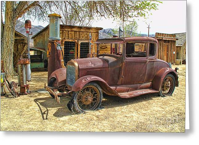 Retired Model T Greeting Card