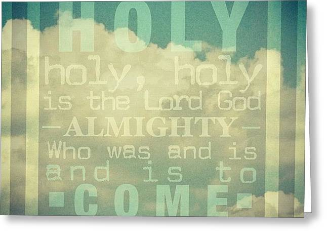 Revelation Song // Phillips, Craig, & Greeting Card by Traci Beeson