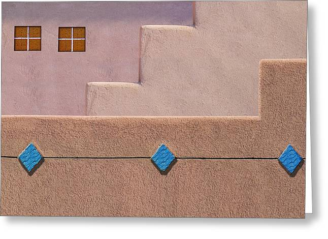 Rhombus Greeting Card by Paul Wear