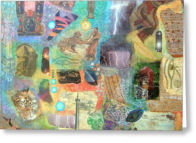 Rich Beyond Compare Greeting Card by Jennifer Baird