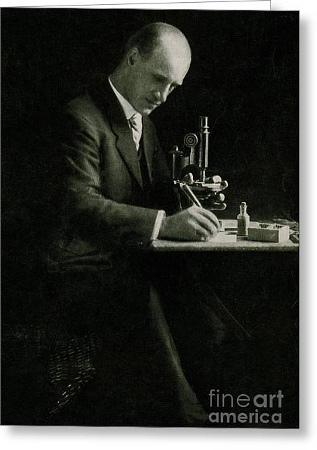 Richard C. Cabot, American Physician Greeting Card by Science Source
