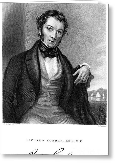 Richard Cobden (1804-1865) Greeting Card