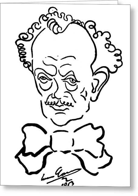 Richard Strauss (1864-1949) Greeting Card by Granger
