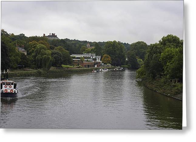 Greeting Card featuring the photograph Richmond Cruise by Maj Seda