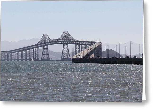 Richmond-san Rafael Bridge In California - 5d18433 - Long Greeting Card