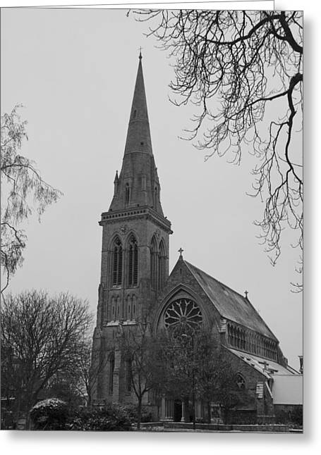 Greeting Card featuring the photograph Richmond Village Church by Maj Seda