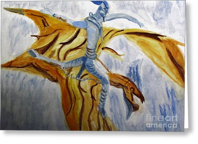 Ride Toruk The Dragon From Avatar Greeting Card