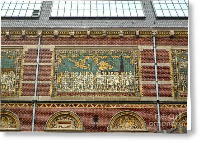 Rijksmuseum- 01 Greeting Card by Gregory Dyer