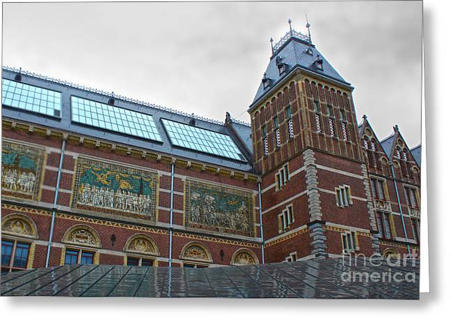 Rijksmuseum- 03 Greeting Card by Gregory Dyer