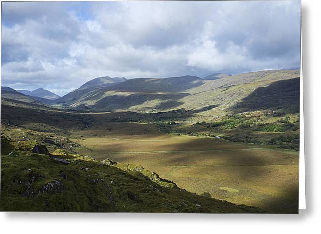 Greeting Card featuring the photograph Ring Of Dingle by Hugh Smith