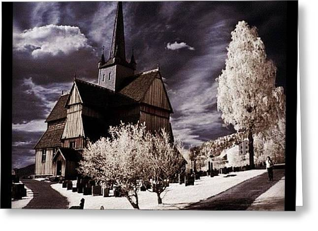 Ringebu, Norway. Stave Church. Taken Greeting Card