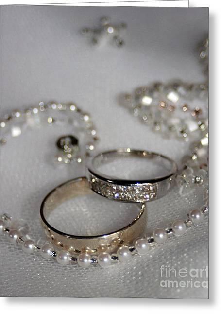 Rings Of Love Greeting Card by Joanne Kocwin