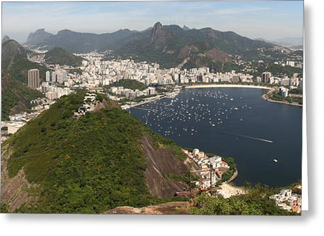 Greeting Card featuring the photograph Rio De Janeiro by Andrei Fried