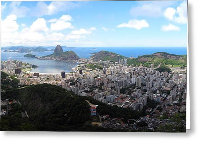 Rio De Janeiro Greeting Card by Luis Esteves