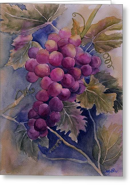 Ripening On The Vine Greeting Card