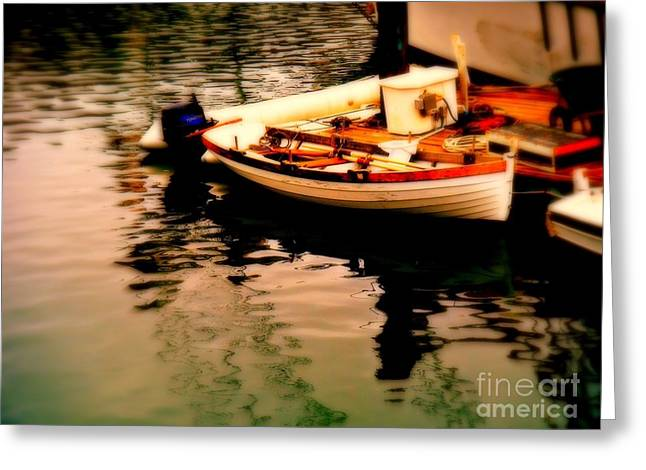 Ripples And Reflections Greeting Card by Kevin Moore