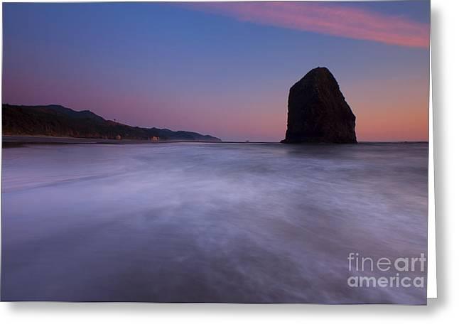 Rising Tide Greeting Card by Mike  Dawson
