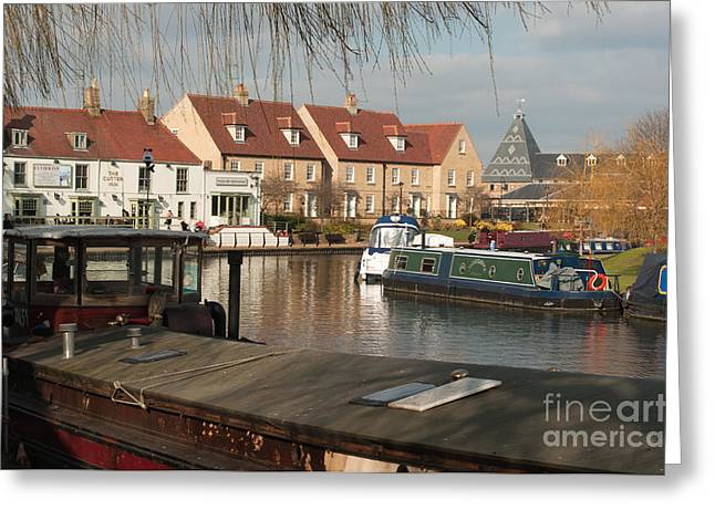Greeting Card featuring the photograph River Great Ouse by Andrew  Michael