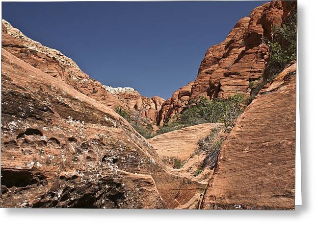 River Of Rock Greeting Card