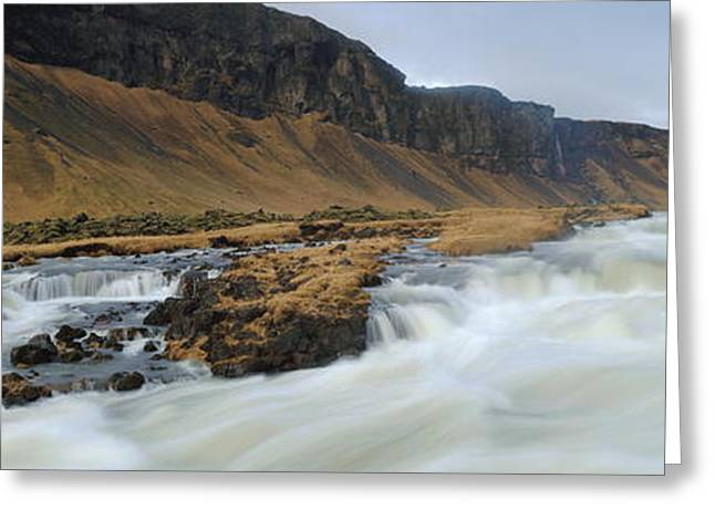 River Rapids Greeting Card by Chris Madeley
