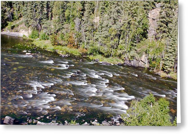 River Rapids Greeting Card
