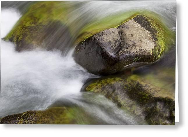 River Rocks II Greeting Card by Jenna Szerlag