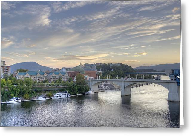 Riverfront View Greeting Card
