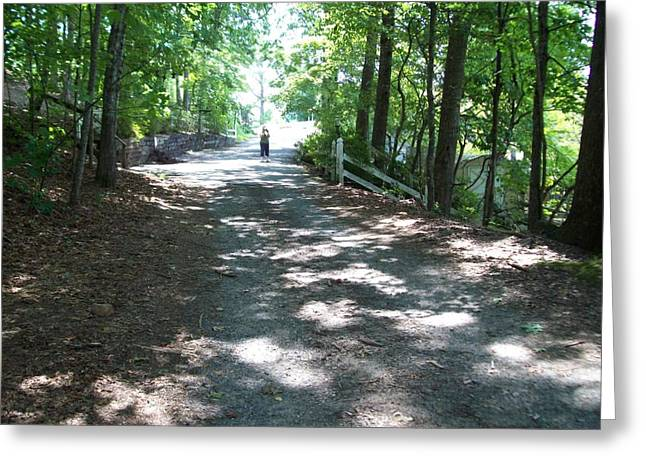 Greeting Card featuring the photograph Road Less Traveled by Lou Ann Bagnall