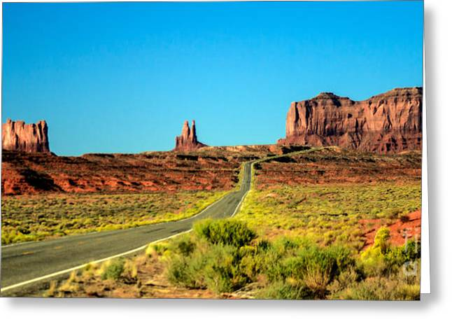 Road To Paradise Greeting Card by Robert Bales