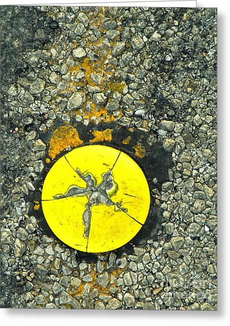 Road Urchin Greeting Card by Joe Jake Pratt