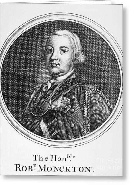 Robert Monckton (1726-1782) Greeting Card by Granger