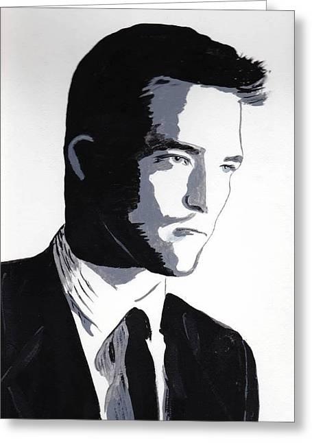 Robert Pattinson 2 Greeting Card